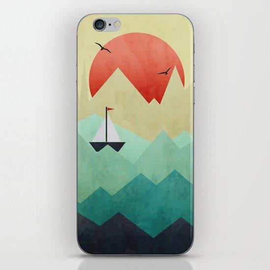 Ocean Adventure iPhone & iPod Skin