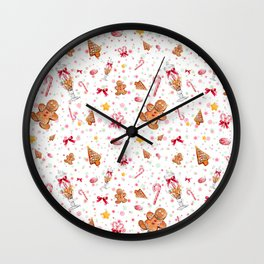 Gingerbread Wall Clock