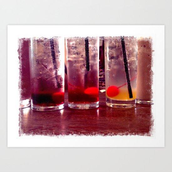 Soda, Italian Art Print