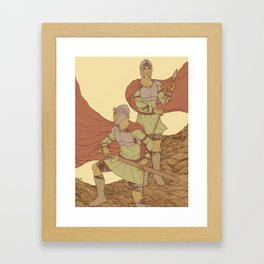 Castor And Pollux (hi-res) Framed Art Print