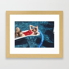 Baewatch Framed Art Print
