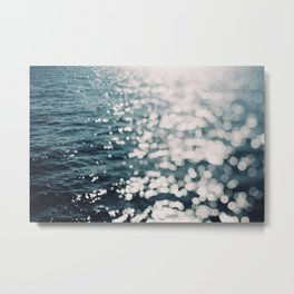Sea Spark Metal Print