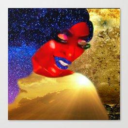 Ecstatic Queen Canvas Print