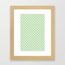 Circles and Diamonds Framed Art Print