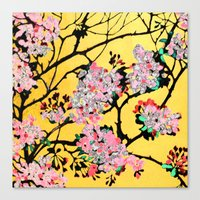 blossom Canvas Prints featuring Blossom by marlene holdsworth
