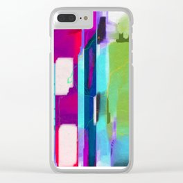 Charged Omnipresence Clear iPhone Case