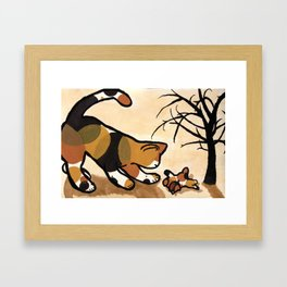 Time to play Framed Art Print