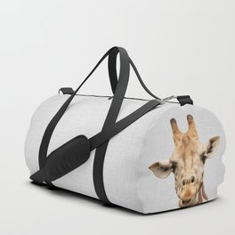 Giraffe 2 - Colorful Duffle Bag