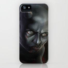 Demonoid Girl Portrait iPhone Case