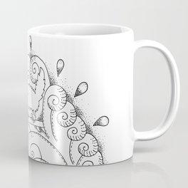 Surfing Cat Coffee Mug