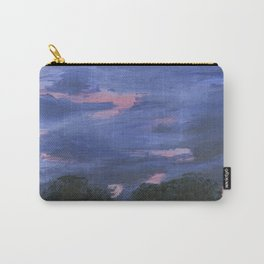 Cloudy Sunset Painting Carry-All Pouch