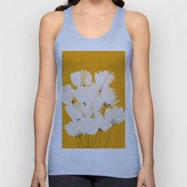 Flowers In Tangerine Unisex Tank Top