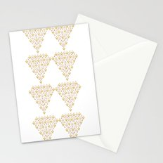 Geometric Diamond Stationery Cards