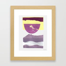 Sound Avenue II Framed Art Print
