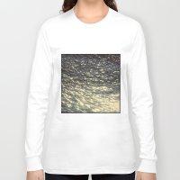 sparkles Long Sleeve T-shirts featuring Sparkles  by Julia Kovtunyak