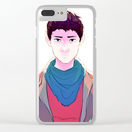 Merlin Clear iPhone Case