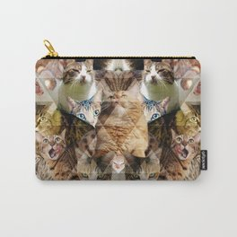 Cat Kaleidoscope Carry-All Pouch