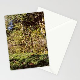 Autumn Oxford Canal Reflections Stationery Cards