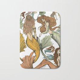 Séquito de Sirenas Bath Mat