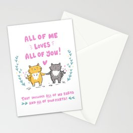 All Our Farts - Valentine's Day Stationery Cards