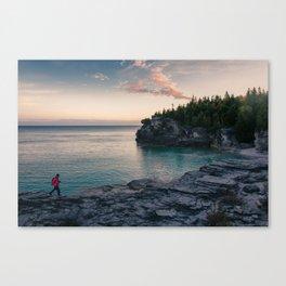 Sunrise at Bruce Peninsula National Park Canvas Print