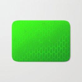 Coffinly Green Hexas Bath Mat