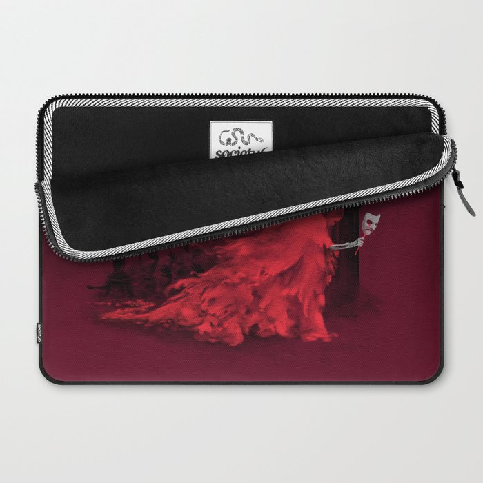 Red Death Laptop Sleeve