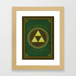 Celtic Triforce Framed Art Print