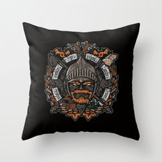 GNG CREST Throw Pillow