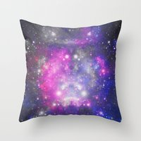 universe Throw Pillows featuring Universe by haroulita