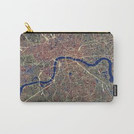 London Street Map Carry-All Pouch