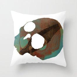 Skull 9 Throw Pillow