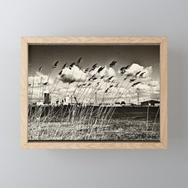 Spring Glow Framed Mini Art Print