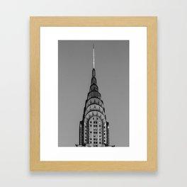 New York, Chrysler Building, William Van Alen Framed Art Print
