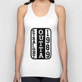 Direct from 1989 30th birthday 30 years gift Unisex Tank Top