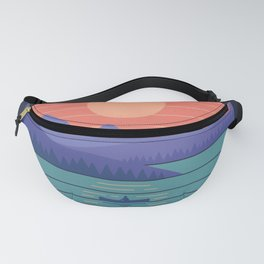Peaceful Reflection Fanny Pack
