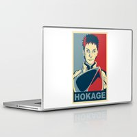 naruto Laptop & iPad Skins featuring Naruto - Hokage by KingSora