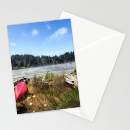 Red Kayak Stationery Cards