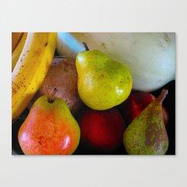 Fruitbowl Canvas Print