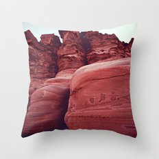 Big Shoes in Puerto Gato Throw Pillow
