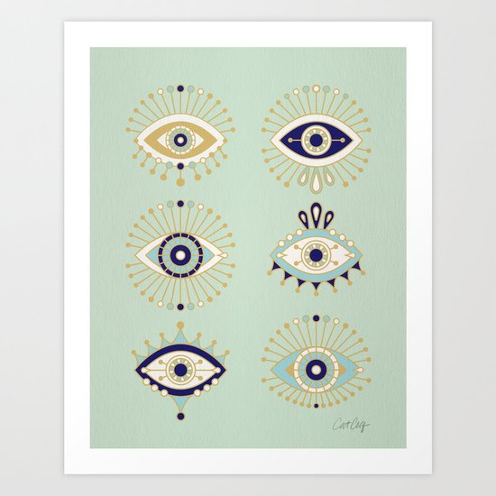 Evil Eye Collection by catcoq