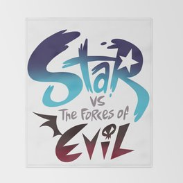 star vs the forces of evil Throw Blanket