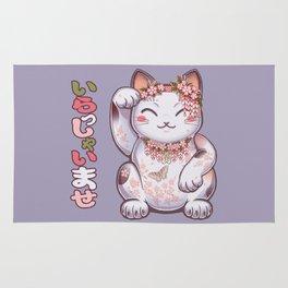 Hanami Maneki Neko: Shun Rug