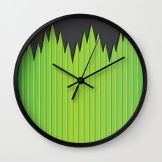 Japanese Plastic Grass Wall Clock