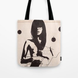 Supersexy - Ink drawing portraiture Tote Bag