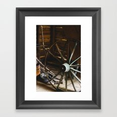 Wheel Framed Art Print