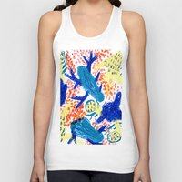 jungle Tank Tops featuring Jungle by Booze Potato
