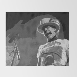 Ahead by a Century - Gord Downie Tragically Hip Throw Blanket