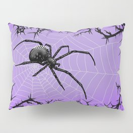 Briar Web- Purple Pillow Sham