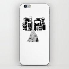 Dead Sound City (Black on White) iPhone & iPod Skin